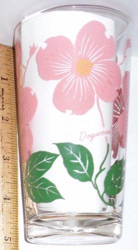 Boscul Peanut Butter Glass Pink Dogwood Flower