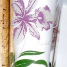 Boscul Peanut Butter Glass Orchid Flower