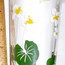 Boscul Peanut Butter Glass White Violet Flower