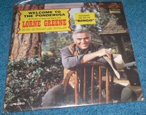 Welcome to the Ponderosa, Lorne Greene, Ringo, LP Vinyl Album