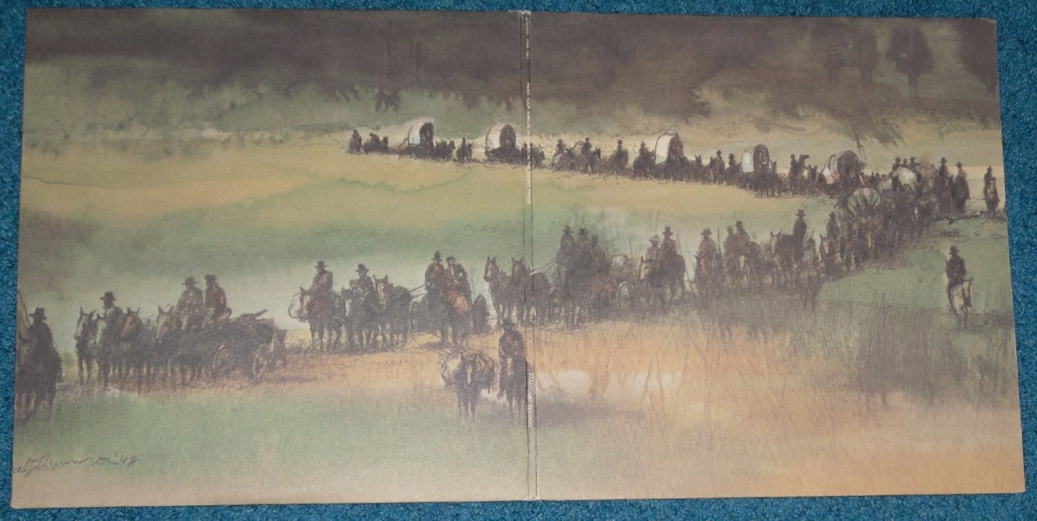 Paint Your Wagon Sound Track LP Vinyl Record with booklet