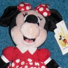 Minnie Mouse Bean Bag Plush Walt Disney World