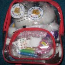 Build a Bear Workshop Book Bag Kit Outfits & Books