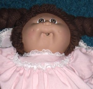1982 Cabbage Patch Kids Girl Doll & Sister Doll CPK