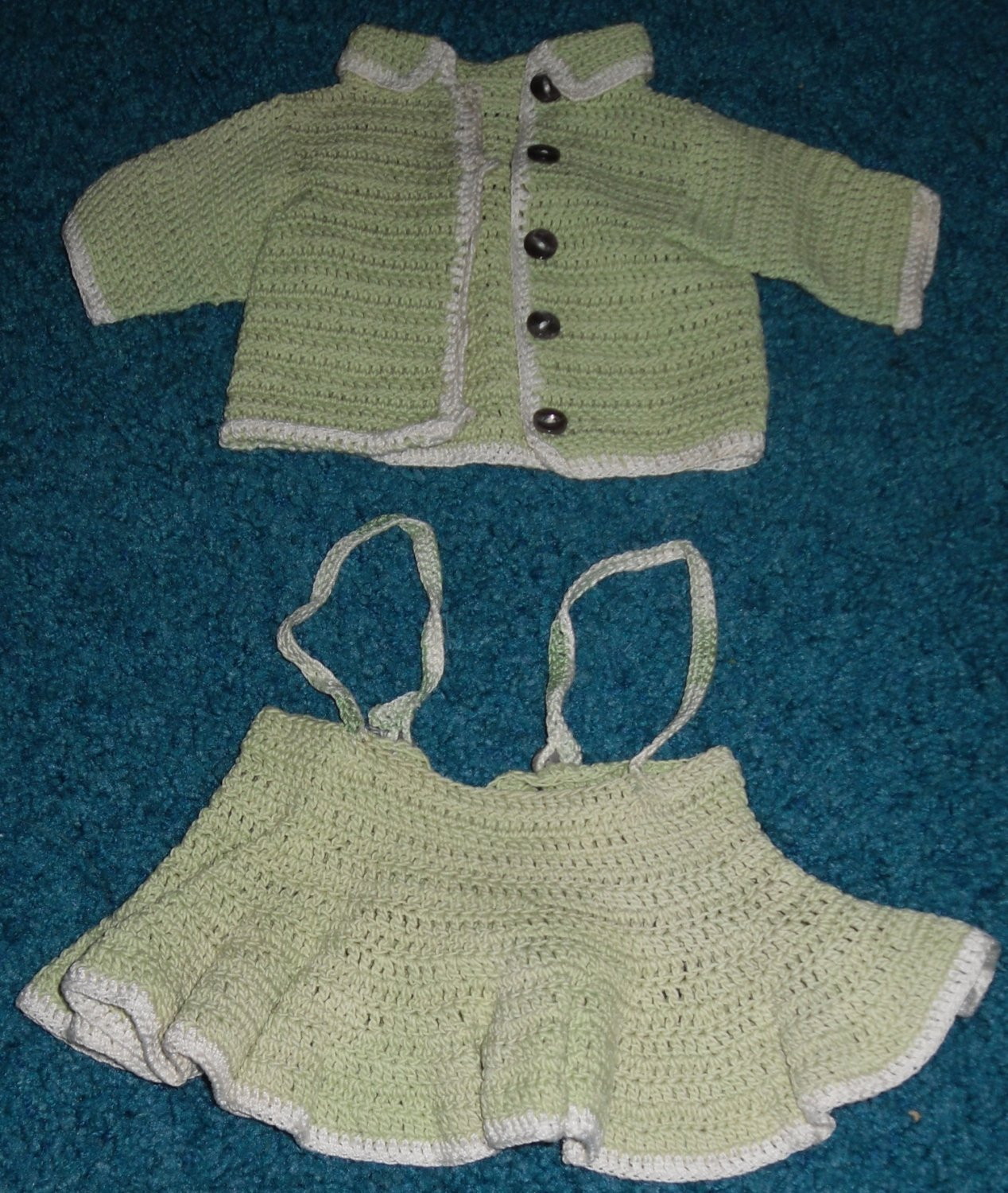 Chatty Cathy Crochet Cheerleader Outfit 1962