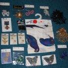 Sewing Crafts Sequin Appliques Stars Emblems Eagles