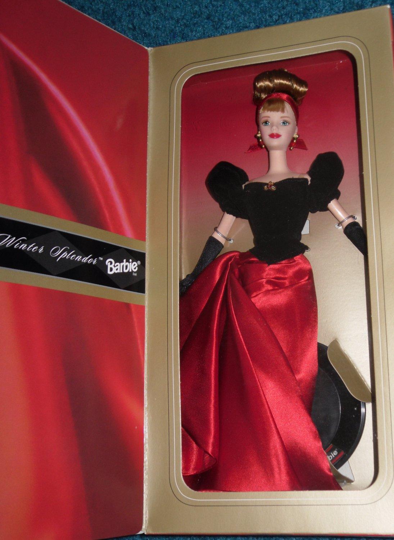 barbie doll winter splendor avon mattel 1998