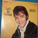 Elvis Presley Let's Be Friends LP