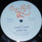 "Spoonie Gee, Spoonie is Back, 12"" Record 1981 Sugar Hill SH-562"