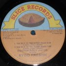 """Doctor Rocx and Co. Kydd Freshh, Tak'in it to the Floor, 12"""" Record 1985 Slice SR 904"""