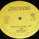 "Keep it on, G-five, 12"" record Novarro NR-1001"