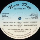 "Grandmaster Melle Mel, The Furious 5, White Lines '89-Part II, 12"" Record"