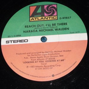 """Narada Michael Walden, Reach Out, Shake it Off, 12"""" Record"""