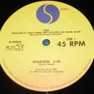 """Yaz, Situation, 12"""" Record Sire Records 1982"""