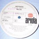 "B.E.B., Break Electric Boogie, Hotdog, 12"" Record, Ariola Records 1983"