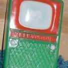 Doll House Television Vintage Dollhouse Plastic TV