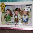 Kelly Doll Friends of World Europe Barbie Sister Mattel