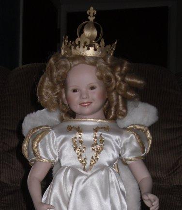 Shirley Temple Little Princess Portrait Doll Danbury Mint 1993