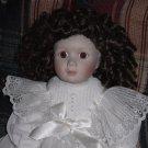 Victorian Porcelain Doll Franklin Heirloom by Beth Mullins