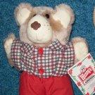 Wendy's Restaurant Furskins Bear 1986