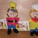 Kellogg's Snap, Pop Beanie Bean Bag Dolls