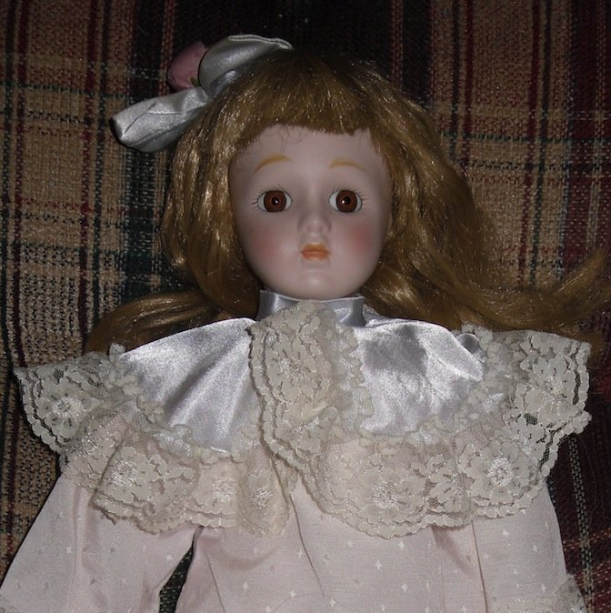Heritage Mint Porcelain Doll Victorian