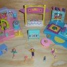 Polly Pocket Miniature Doll Playsets Ballet Gymnastics