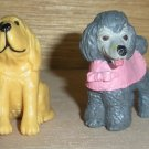 Puppy In My Pocket Hasbro M.E.G. Poodle Bloodhound Rottweiler