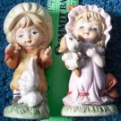 Children Ceramic Figurines by Royal Crown