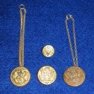 4 Military Army Buttons