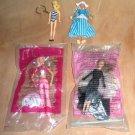 4 Barbie McDonalds Miniatures Solo in the Spotlight, Dance