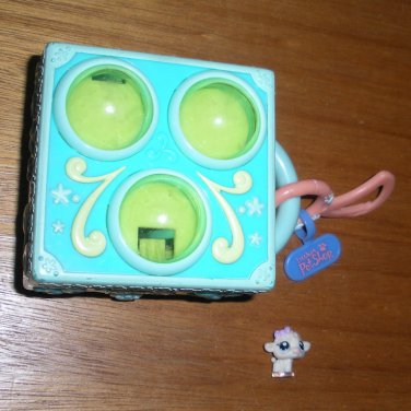 Littlest Pet Shop Miniature Playset with Poodle