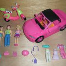 Polly Pocket Boy, Jointed Knee Girl, Convertible, Motorcycle, Clothes