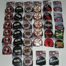 Rock Shop Buttons Pinbacks ACDC, Linkin Park, Eminem,