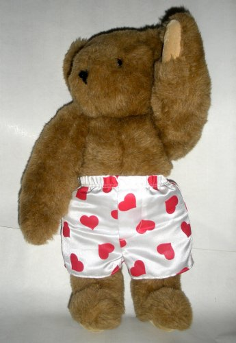 Vermont Teddy Bear Plush with Shorts