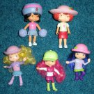 Strawberry Shortcake McDonalds Figures Real Hair