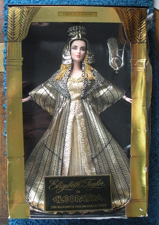 Elizabeth Taylor Cleopatra Barbie Doll