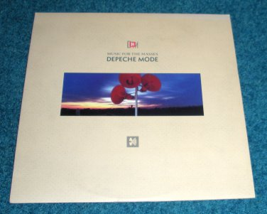 Depeche Mode Music for the Masses LP Sire