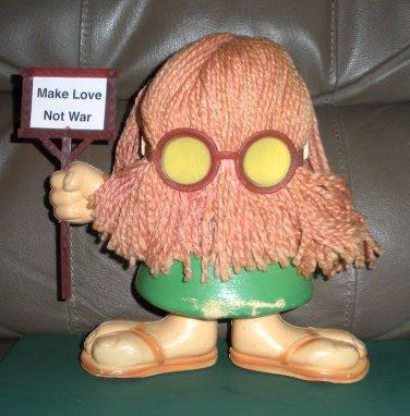 Transogram Hippie Plastic Figure from Lloyd Thaxton Show