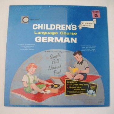 Children's Language Course German Sealed LP Record