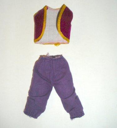 """Vintage pants and vest for 8"""" Mego, Mattel Action Figures"""