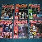 6 Fangoria Horror Magazines by Starlog, Candyman, Alien