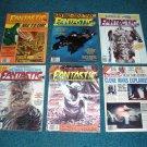 6 Fantastic Films Magazines from 1980, Godzilla, Meteor, Star Trek
