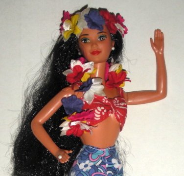 Hawaiian Polynesian Barbie Doll Super Star 1980 Steffie Face
