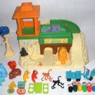 Little People Zoo 916 Elephant Monkey Train Fisher Price