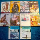 12 Foster and Grumbacher Art Books for Drawing Watercolor and Oil Painting