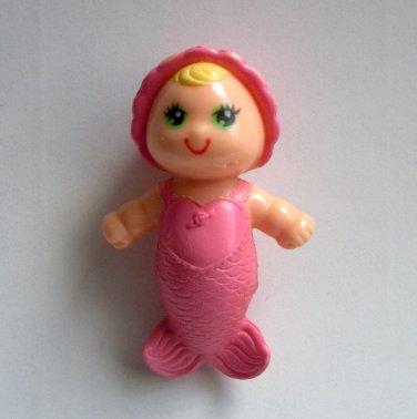Kenner Sea Wees Pink Baby Mermaid Figure