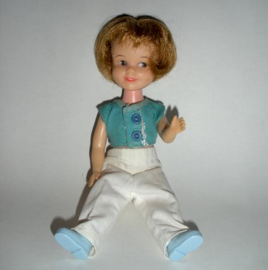Penny Brite Doll with White Pants & Blue Shirt