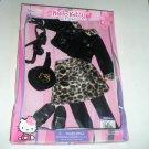 Hello Kitty Sanrio Doll Leopard Skirt Jacket Clothes