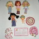 5 Bandai Strawberry Shortcake Dolls